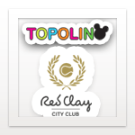Topolino Red Clay logo